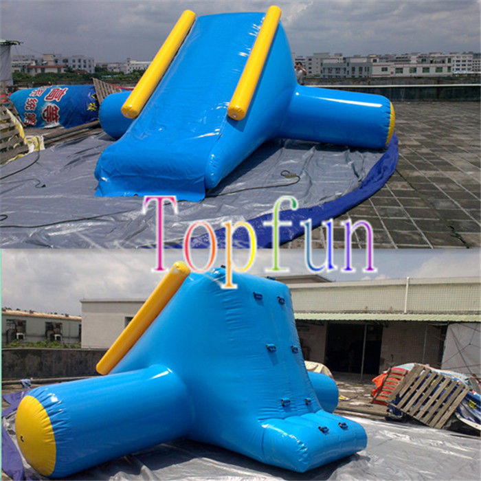 Inflatable Water Slide Usa: Inflatable Water Slide OEM With Artwork Logo / Amusement