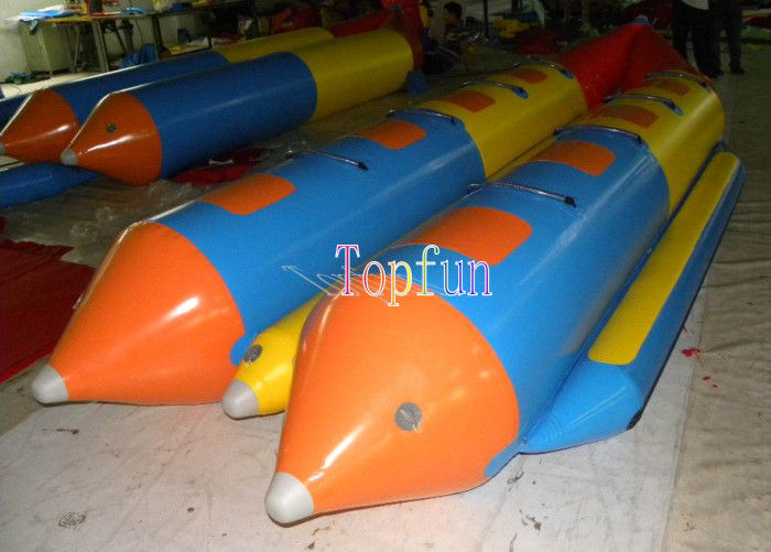 Durable Inflatable Flying Fish / Banana Water Sled Inflatable Boat 8 ... M Fish Packaging