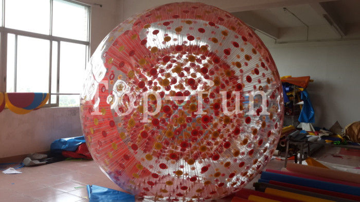 Boule zorbing gonflable transparente populaire de diam tre - Boule gonflable transparente ...