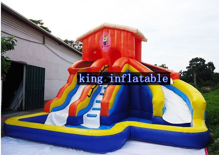 kids inflatable water slide waterproof backyard bounce house rh inflatablewaterfun com backyard bounce house az small backyard bounce house