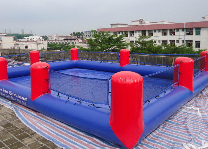 Purple Inflatable Sports Games / Inflatable Prize Ring ...