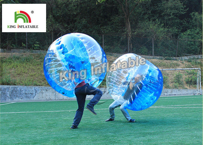 1.0mm PVC Inflatable Bumper Ball Transparent Bubble Ball For Football Games