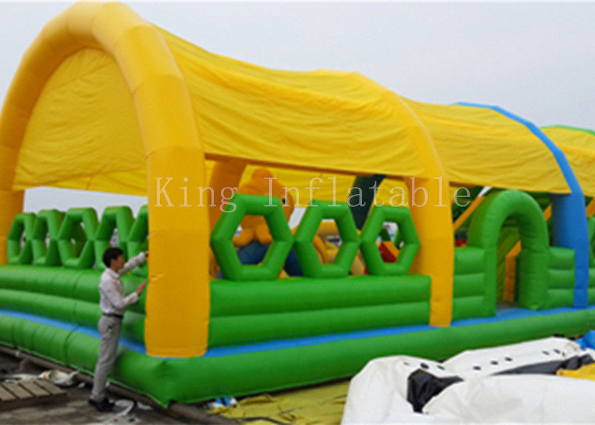 0.55 PVC Tarpaulin Bouncer Castle Outdoor Inflatable Amusement Park