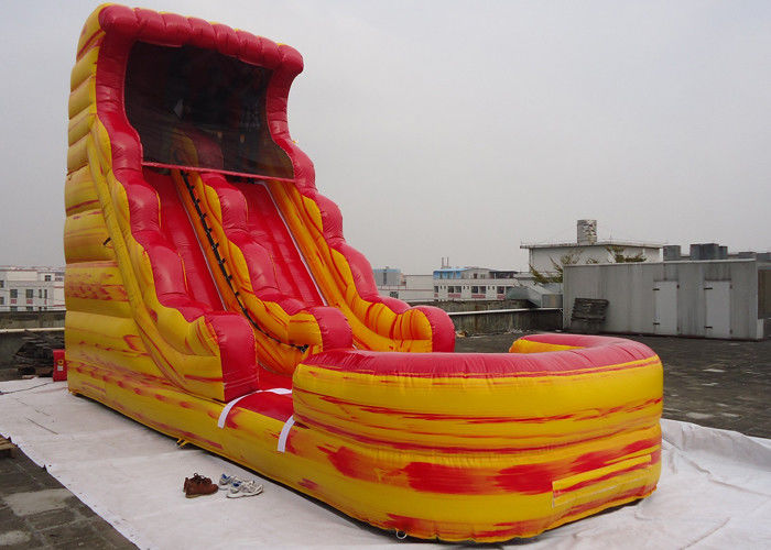 Giant inflatable water slide with pool for kids adults - Inflatable pirate ship swimming pool ...