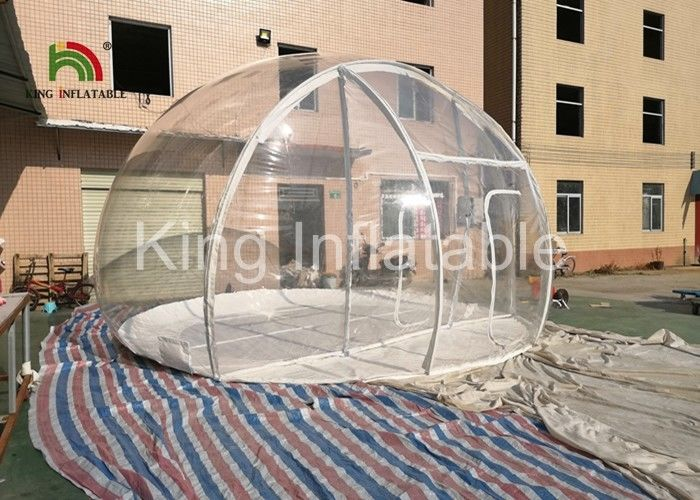 UV Proof Customize Outdoor Transparent Inflatable Event Tent For Advertising