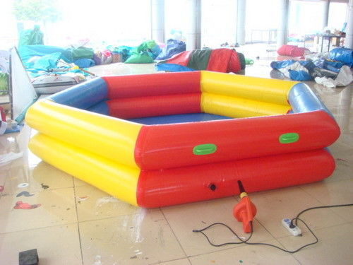 Pvc tarpaulin circular swimming pool inflatable swimming for Swimmingpool 3m