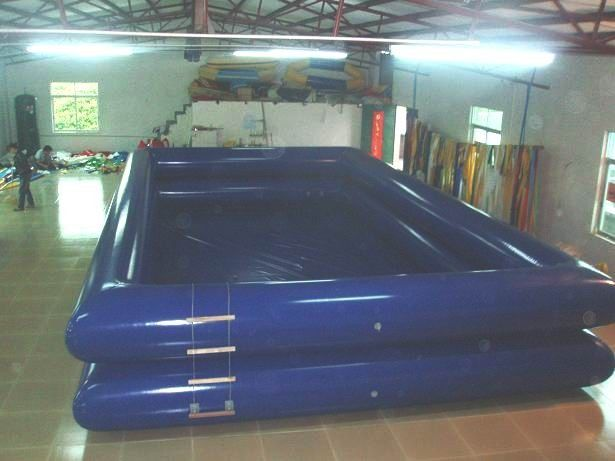 Pvc tarpaulin swimming pool inflatable swimming for Swimmingpool 3m