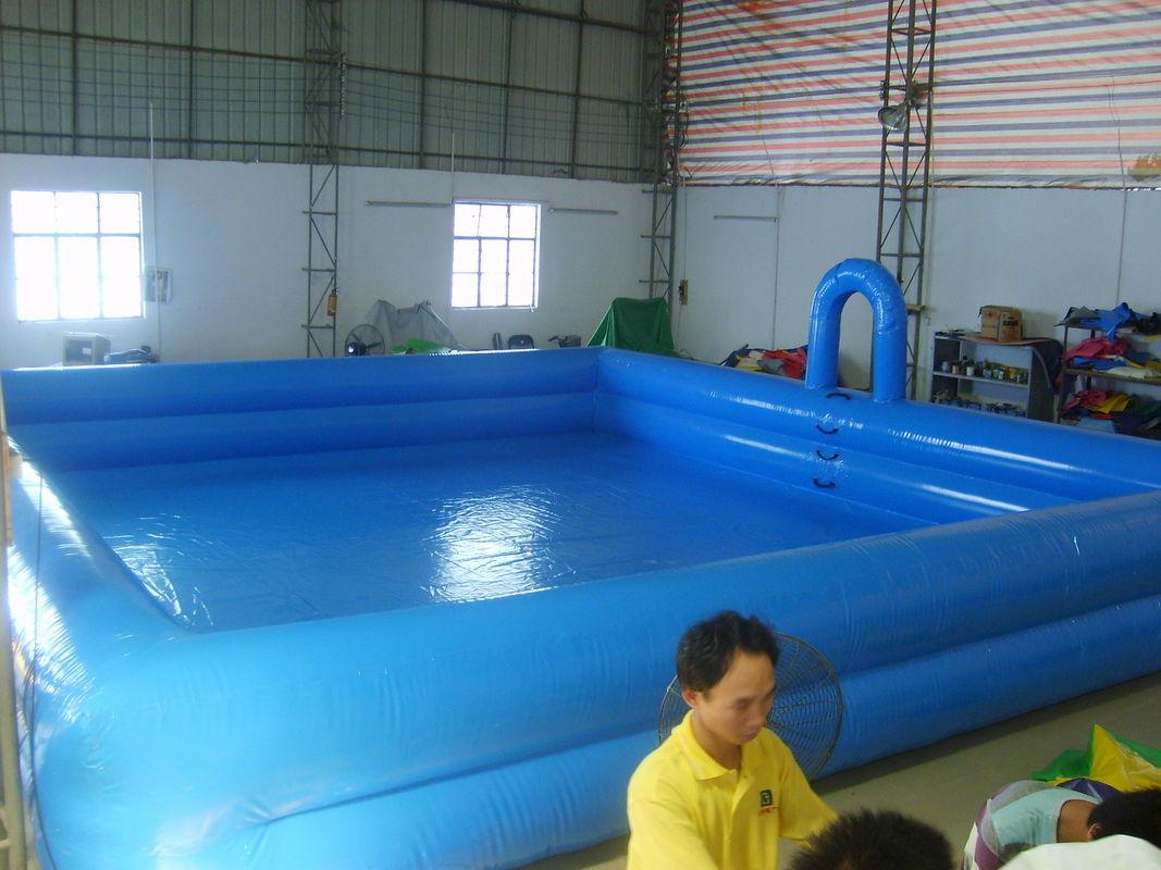 Altura doble del tubo el inflable de la lona for Piscinas pool
