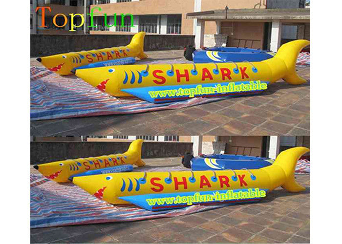 Pvc tarpaulin inflatable fly fishing boats banana for Inflatable fly fishing boats