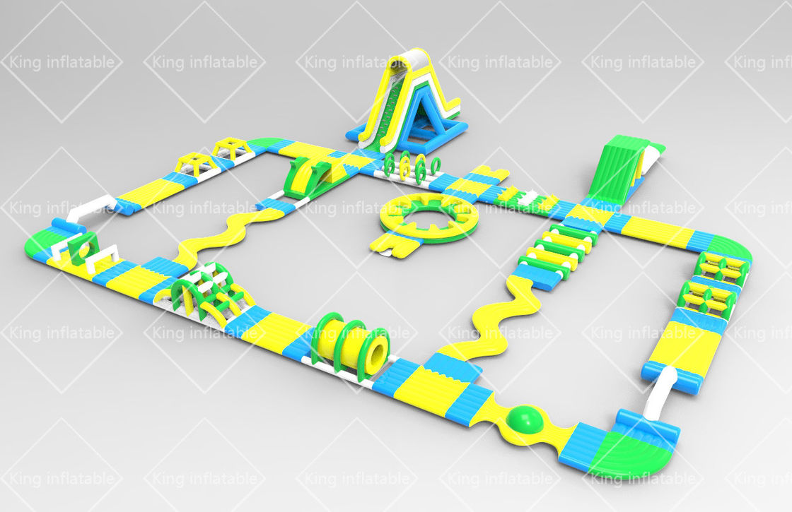 2020 Bespoke Design New Aqua Park Inflatable Floating Water Park For Children and Adults