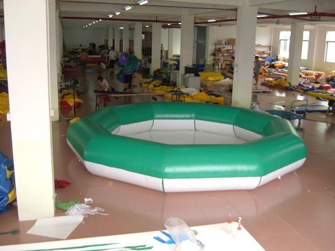 Diametro della piscina 4m del poligono piscine gonfiabili for Piani del padiglione della piscina