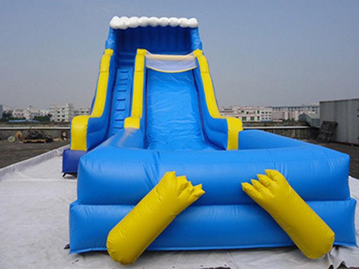 Tobog n acu tico inflable al aire libre gigante con la for Tobogan piscina ninos