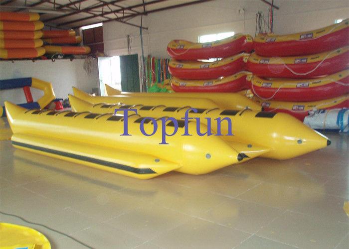 ligne double ou simple bateau gonflable de forme de bateau de banane banane avec le moteur pour. Black Bedroom Furniture Sets. Home Design Ideas