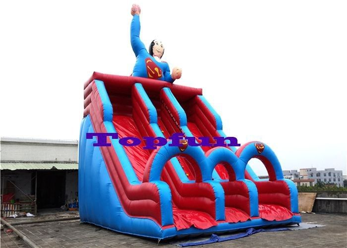 fbb2db5c49c Hero Designing Inflatable Water Slide Double Lanes Slide Kids Outdoor Fun