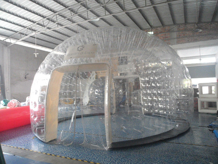 Outdoor Inflatable Transparent Bubble Tent  PVC Hand-made Clear Dome Tent & Outdoor Inflatable Transparent Bubble Tent  PVC Hand-made Clear ...
