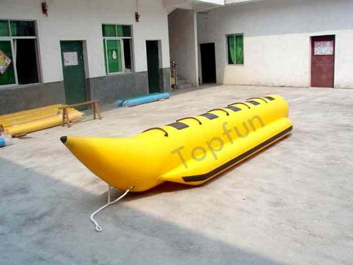 Yellow waterproff banana inflatable fly fishing boats with for Inflatable fly fishing boats