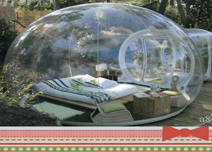 & Large 4M PVC Inflatable Clear Bubble Tent Waterproof For Camping