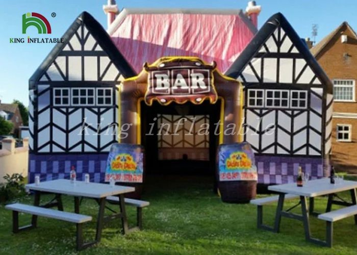 Airtight Inflatable Event Tent Outdoor Pub Cabin 2 Years Warranty