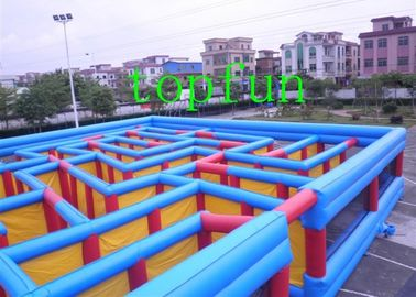 Giant Commercial Inflatable Amusement Park / Inflatable Obstacle Course,water proof and fire retardant