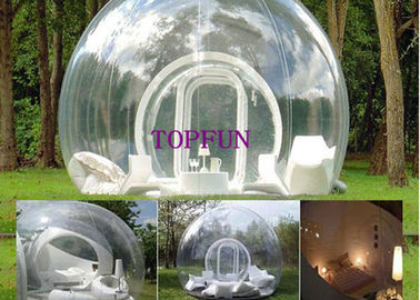 Commercial Transparent PVC Lawn Inflatable Bubble Tent Balloon 4 M Diameter