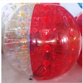 OEM Waterproof Human Inflatable Bumper Bubble Ball For Adults