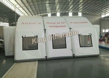 China White 7*5m Unslead Inflatable Event Tent For Shelter , Warehouse factory