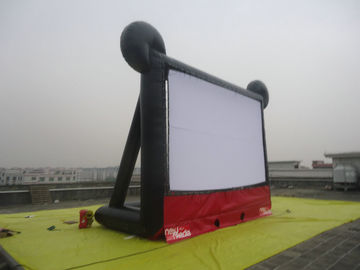 0.55mm PVC Commercial Rental Outdoor Inflatable Movie Screen for Family Enjoyment