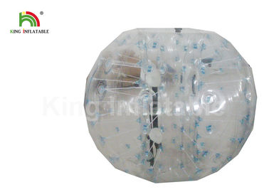China 0.8mm Inflatable Clear PVC Human Bumper Bubble Ball / Human Hamster Ball factory