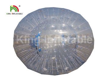 China Air Tight Transparent 1.2m Diameter Inflatable Zorb Ball For Rolling Down factory