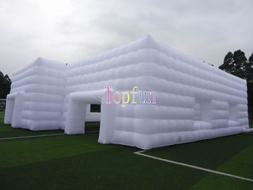 White Trade Show Inflatable Event Tent House / Party Tent For Wedding Or Exhibition