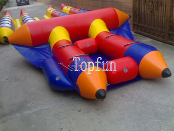 4 Person B106 PVC Inflatable Flyfish Boat , Cute Inflatable Fly Fish