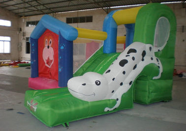 Inflatable Commercial Bouncy Castles with Slide