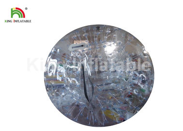 China 1.0mm PVC Clear 3m Commercial Inflatable Zorb Ball For Outdoor Game factory
