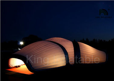 Giant DIY Inflatable House Tent LED Lighting Inflatable Event Tent For Exhibition