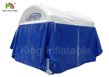 Airproof Blue Inflatable Little House Structure Air Tent For Different Events