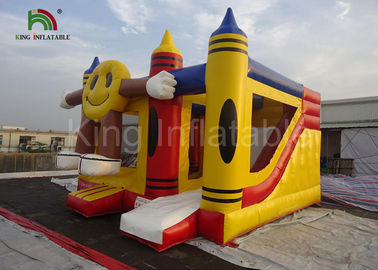 Interesting Children and Adult Inflatable Jumping Castle , Commercial Inflatable Bouncer Combo