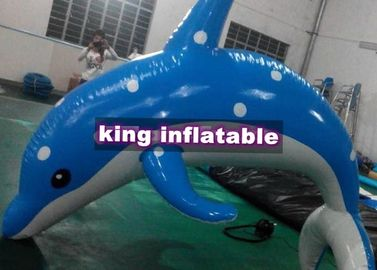China Heat Sealed 3m Inflatable Dolphin Water Toy With CE UL SGS Approved factory
