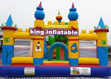 8m x 8m Custom s Combi Bouncy Castle / Fun Run Obstacle Course