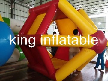 2.4m Diameter Water Walking Ball And PVC Inflatable Water Roller For Water Park