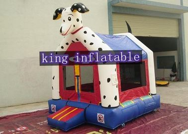 Safety Dog Design Inflatable Commercial Bounce Houses ,  Animal Themed
