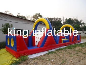 Inflatable Amusement Park Giant PVC Children Outdoor Inflatable Obstacle Course