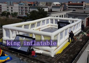 Outdoor Giant Inflatable Sports Games Luxurious Customized For Adults