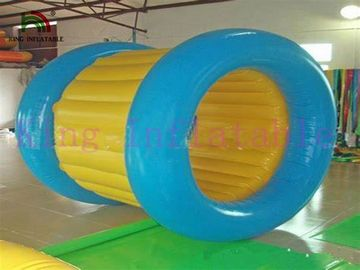 PVC Tarpaulin 3 Layers Inflatable Water Rolling Toy For Water Park