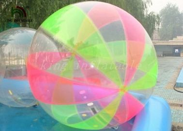 China Colorful Water Ball Inflatable Walk On Water Ball strong weled For Water Fun factory
