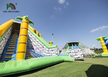 Multiplay Combo Playground Inflatable Amusement Park Bright Color Durable
