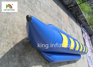 China 6 Seats Blue Inflatable Fly Fishing Boats Water Boat PVC Tarpaulin factory