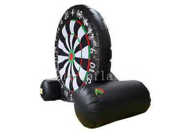 Adults Inflatable Football Darts Target 4 M *3 M Soccer Ball Board Shooting