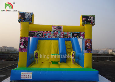 China Commercial Inflatable Dry Slide For Parties Rental Customized Size factory