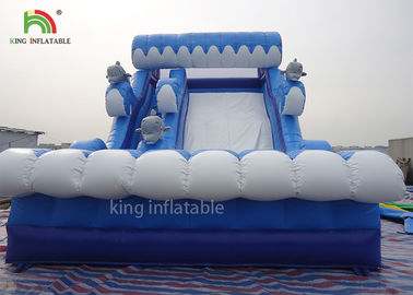 China Shark Model Inflatable Dry Slide Adults Play For Beach 2 Years Warranty factory