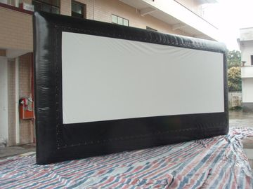 Commercial Huge Size PVC Tarpaulin Movie Screen Outdoor Inflatable Movie Screen For Festvals Use